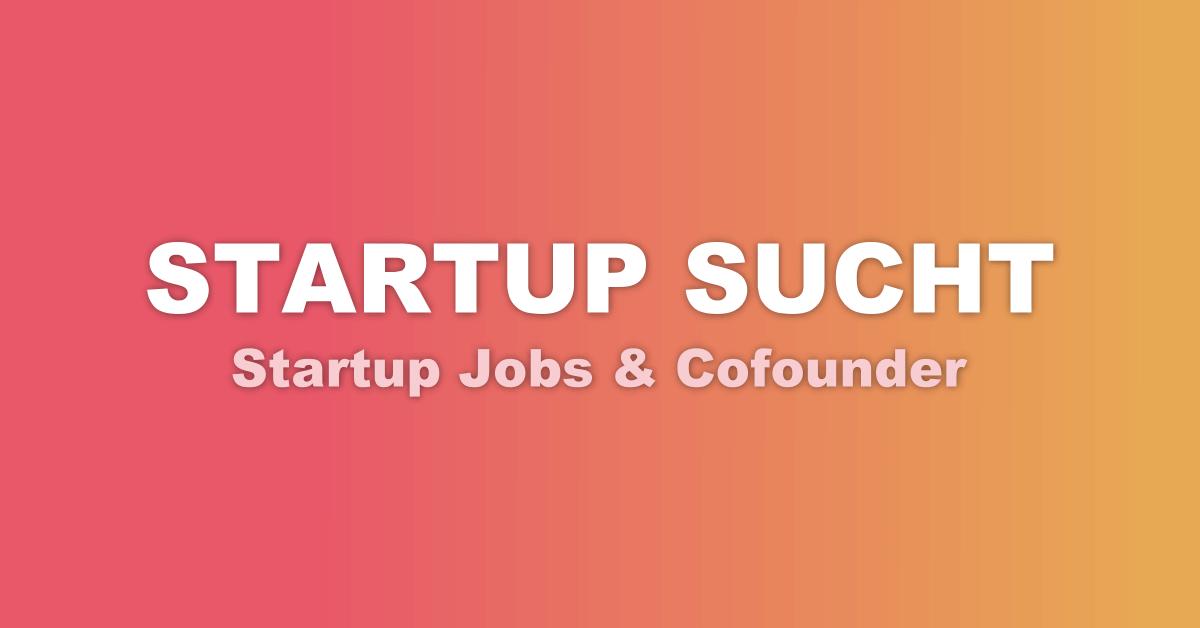 startup jobs cofounder